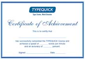 Typequick Professional Certificate